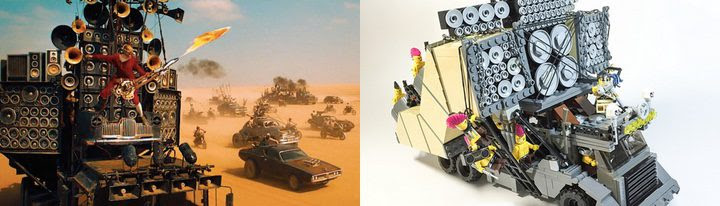 Mad Max y Mad Max LEGO