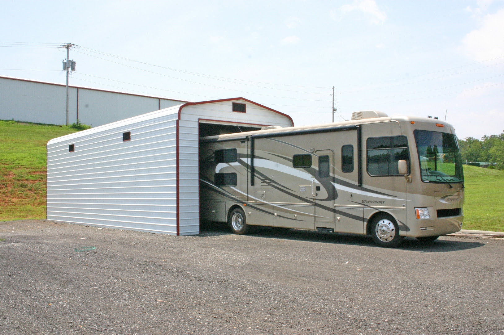 RV Covers and Camper Covers, Metal Carports, and Garages