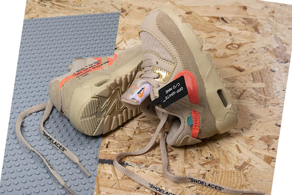 cozy fresh f26cc bd19c The Off-White x Nike Air Max 90 For Toddlers Releases This Thursday In  Europe