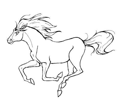 kleurplaten dieren paarden tekeningen dieren kleurplaten