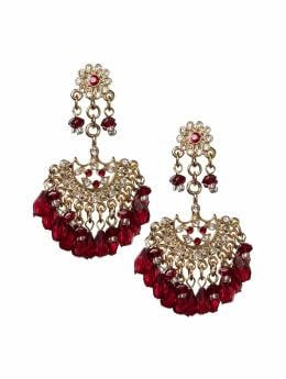Banana Republic Cabernet chandelier earring