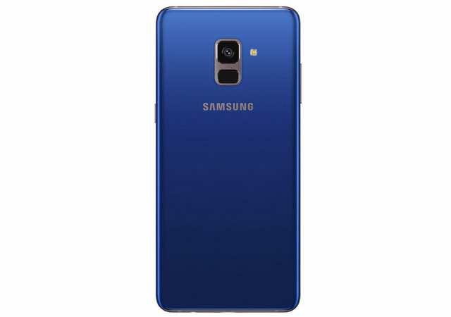 Galaxy A8 2018 rear view