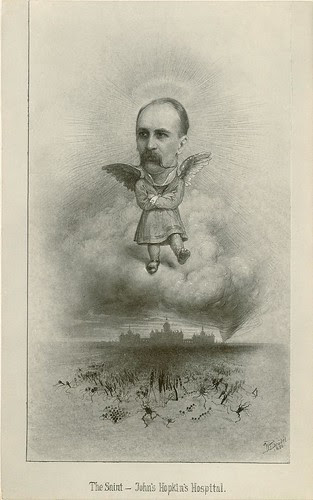 The Apotheosis of William Osler, 1896 by Max Broedel