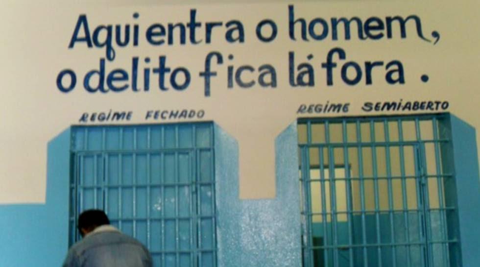 Prédio da Apac de Itaúna (MG).