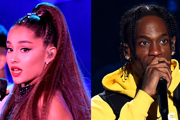 7cd6faa4a302 Ariana Grande Clarifies Comments Made About Travis Scott