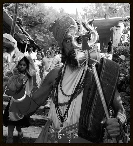 The Naga Sadhu at Haji Malang by firoze shakir photographerno1