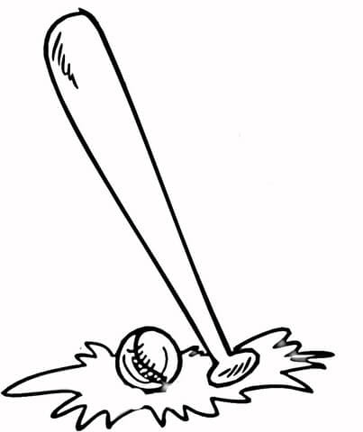 70 Baseball Ball Coloring Pages Download Free Images