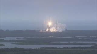 Cygnus Launches Atop Atlas V