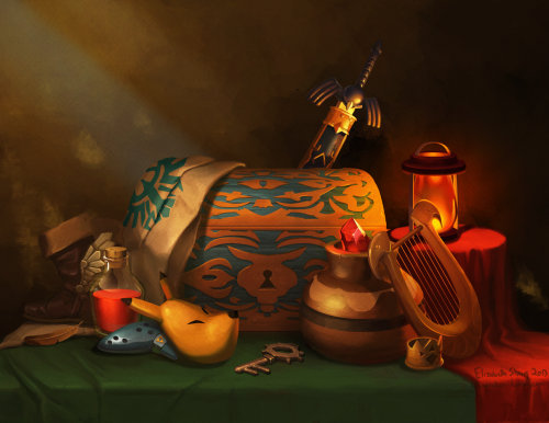Zelda Still Life.by Elizabeth Sherry