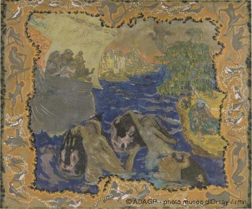 Jeux d'eau entre, Pierre Bonnard, 1906-1910