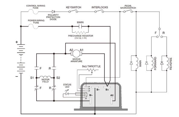 Ev Motor Wiring Diagram