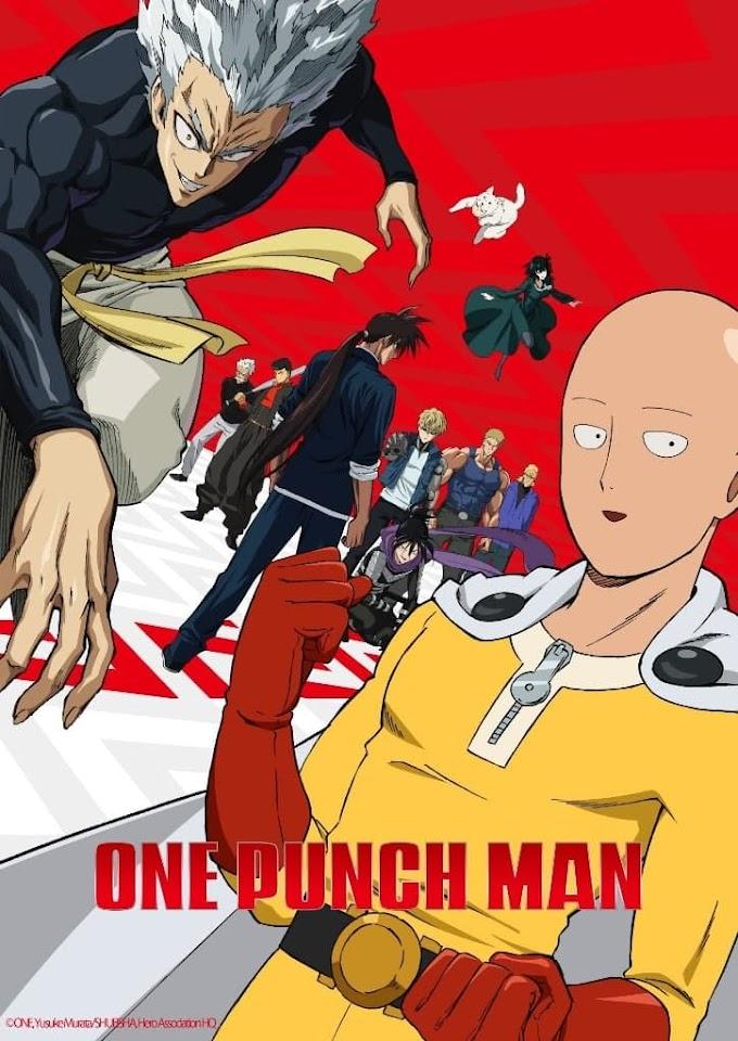 One Punch Man Season 2 BluRay Dual Audio [English-Japanese] DD2.0 480p, 720p & 1080p HD | 10bit HEVC ESubs