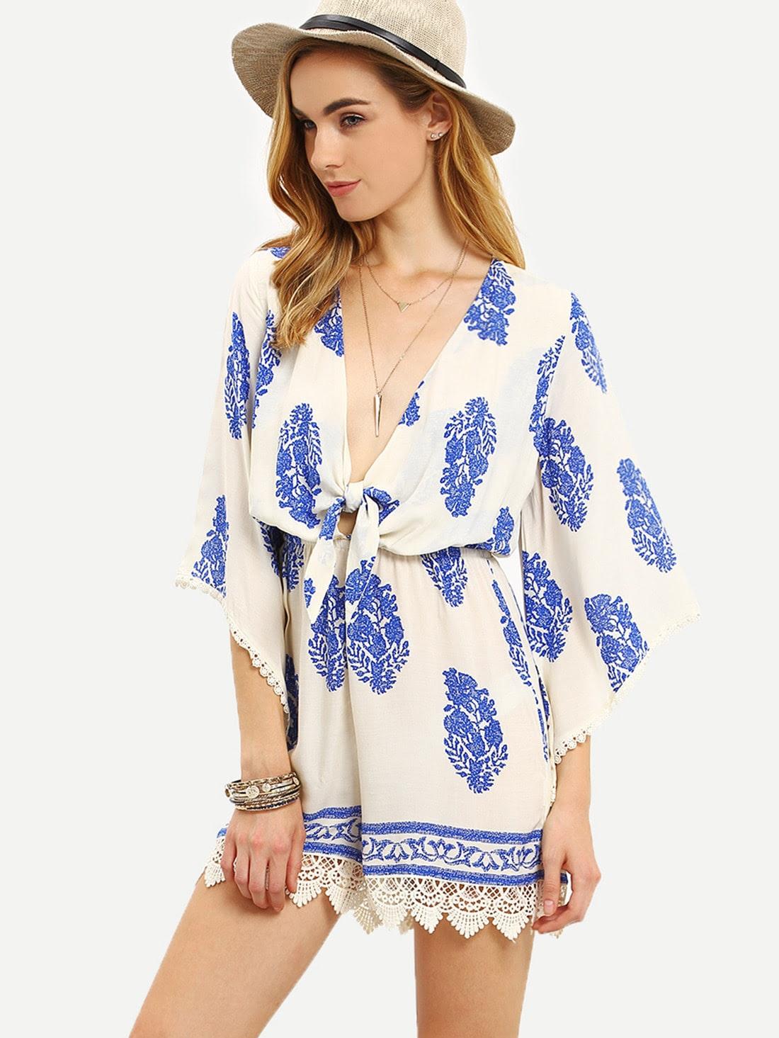 Denim department stores Short Sleeve Band Waist Pleated Dress drop off