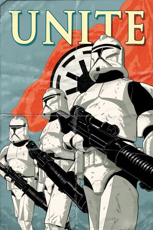 Imperial Forces Unite Imperial Propaganda Poster