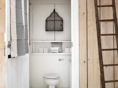 Dreamy Chic Beach Cottage Bathroom Interior Design Photos | Live Love in the Home