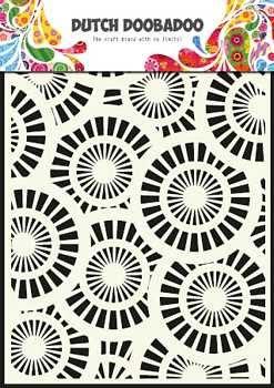 Dutch Doobadoo - Mask art A5 - Circles
