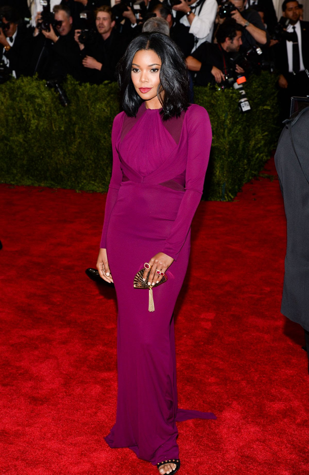 GABRIELLE UNION at MET Gala 2015 in New York