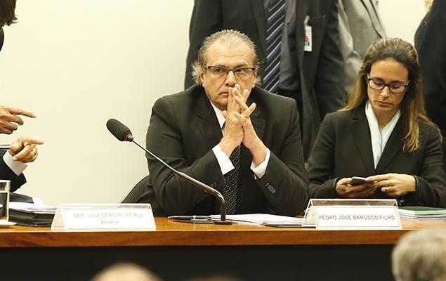CPI da Petrobras ouve ex-diretor da estatal Pedro Barusco, no Congresso Nacional, em Brasília (DF), nesta terça-feira