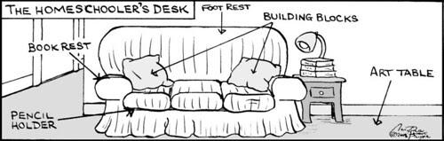 Home Spun comic strip #214