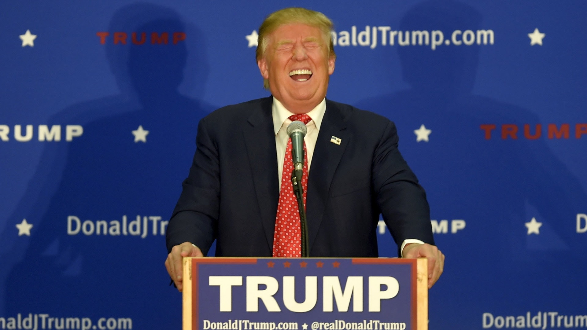 Image result for Trump Laughing