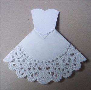 Paper, Paws, etc.: Doily Dress Folds Tutorial   Butterfly