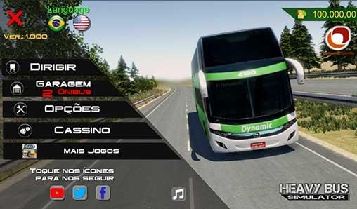 Heavy Bus Simulator 1.086 Apk + Mod (Money) + Data for Android