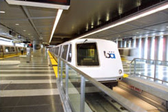 BART at San Francisco International Airport (SFO)