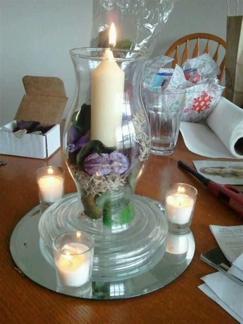 Potpourri centerpieces   Weddingbee Photo Gallery