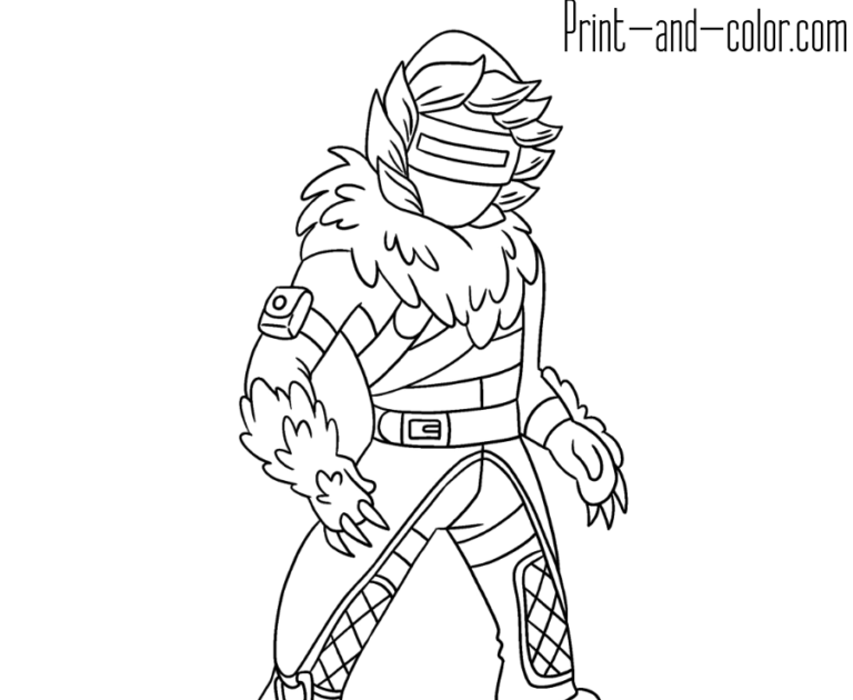 Fortnite Coloring Pages Season 10 Catalyst | How To Get ...