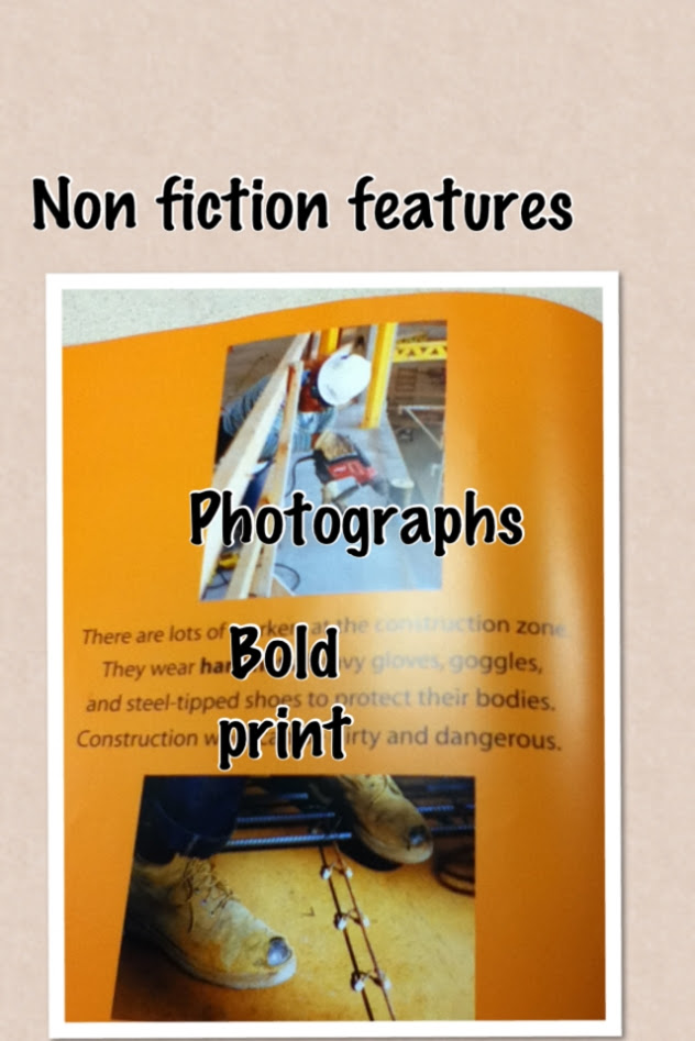 Pic collage first grade non fiction features