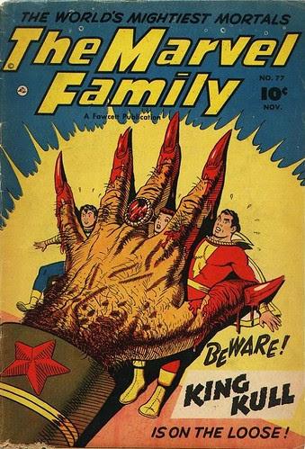 (1952) marvel family 77