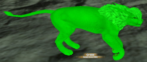Feral Heart Mmorpg Images Green Lion Wallpaper And Background Photos