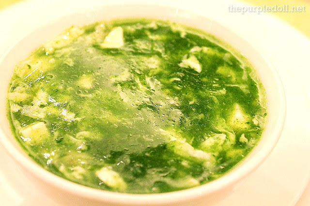 King Chef Seafood Spinach Soup P220