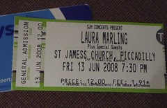Laura Marling, St James, Piccadilly