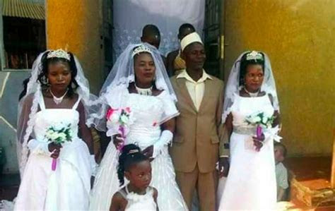Muslim man marries 3 women at the same time   goes viral