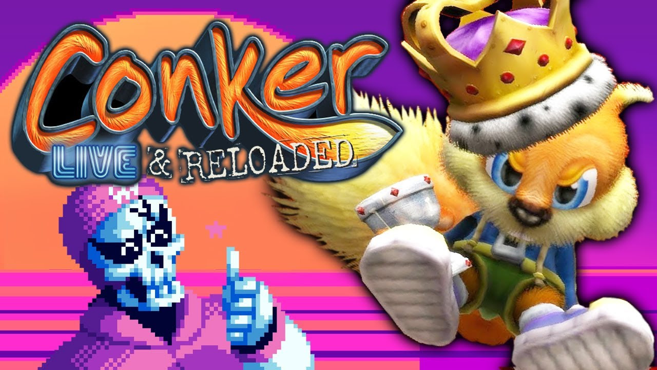 Conker Live And Reloaded Wallpaper Images