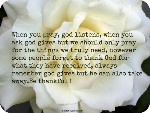 How To Thank God For Answered Prayer