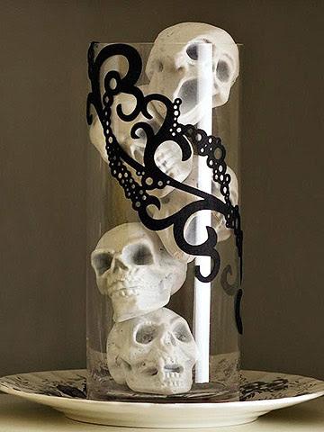 Spooky Skull Arrangement