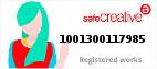 Safe Creative #1001300117985