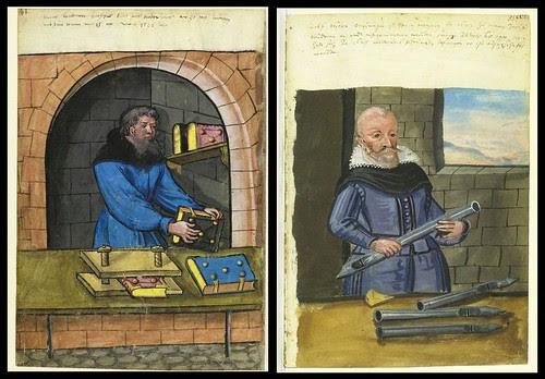 Bookbinder and Organ Pipe Maker