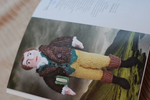 Knit Your Own Scotland - Knitted Rabbie Burns doll