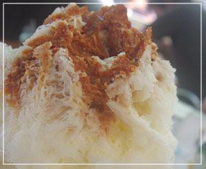 「埜庵」のキャラメルみるく。塩キャラメル風味が楽しめました♪