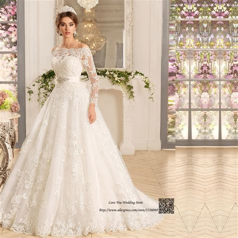 Western Country Turkey Boho Wedding Dress Long Sleeve Lace