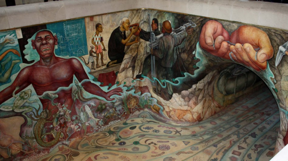 Los 7 Mas Hermosos Murales De La Ciudad De Mexico