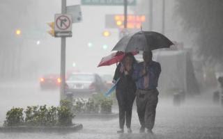 Se pronostican lluvias hasta el próximo martes.