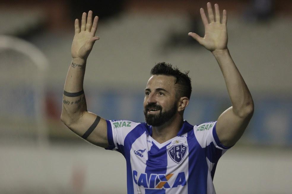 Leandro Cearense deixa o Paysandu para disputar a Série C pelo Fortaleza (Foto: Fabio Costa/O Liberal)