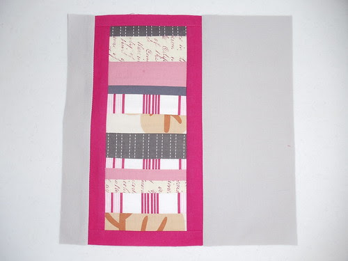 Pretty in Pink Bee - September block for Lisa