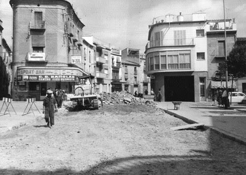 any 1966: arranjament de la plaça dels Turers