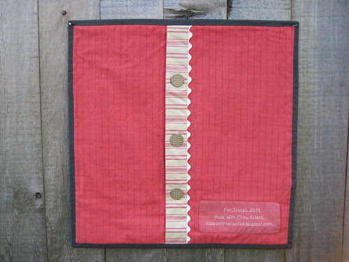 Pillow back by Poppyprint