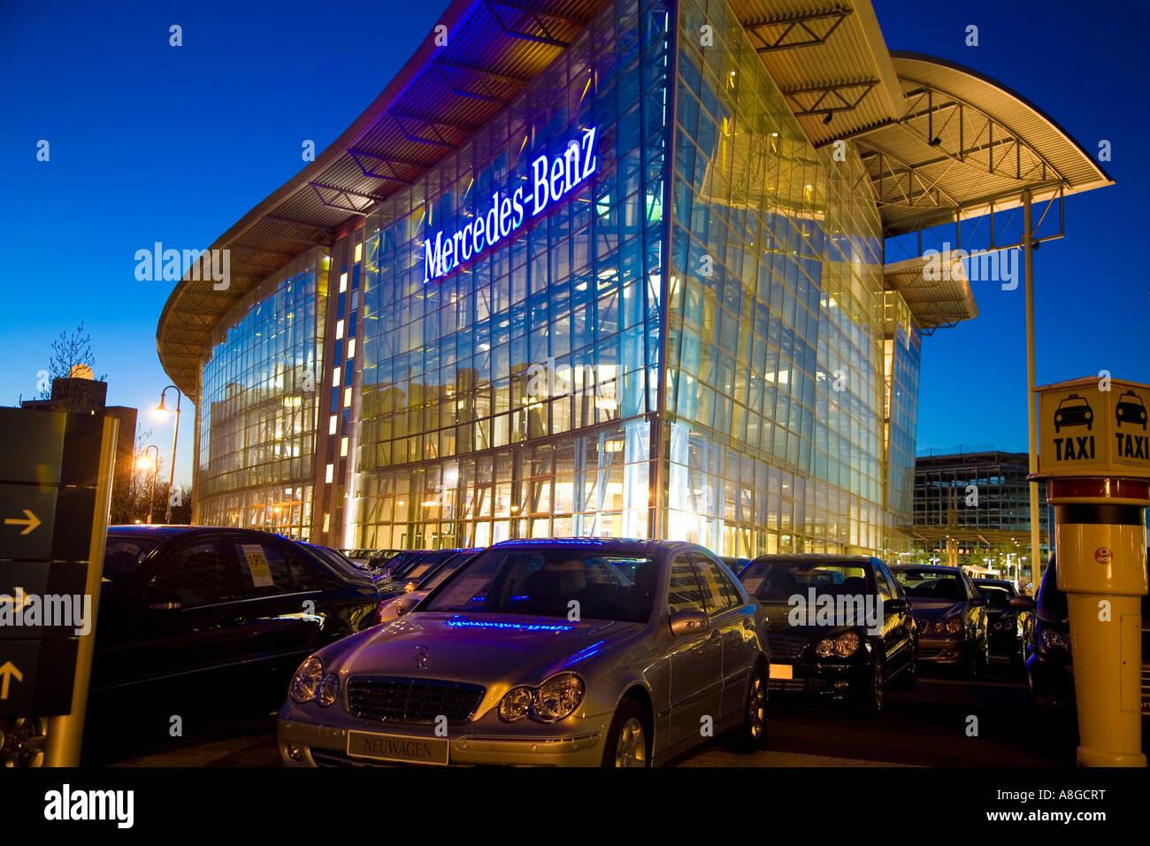 Mercedes Benz Dealership Salzufer Germany Berlin ...